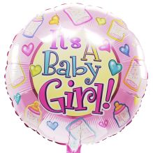 It's a baby girl  ballon