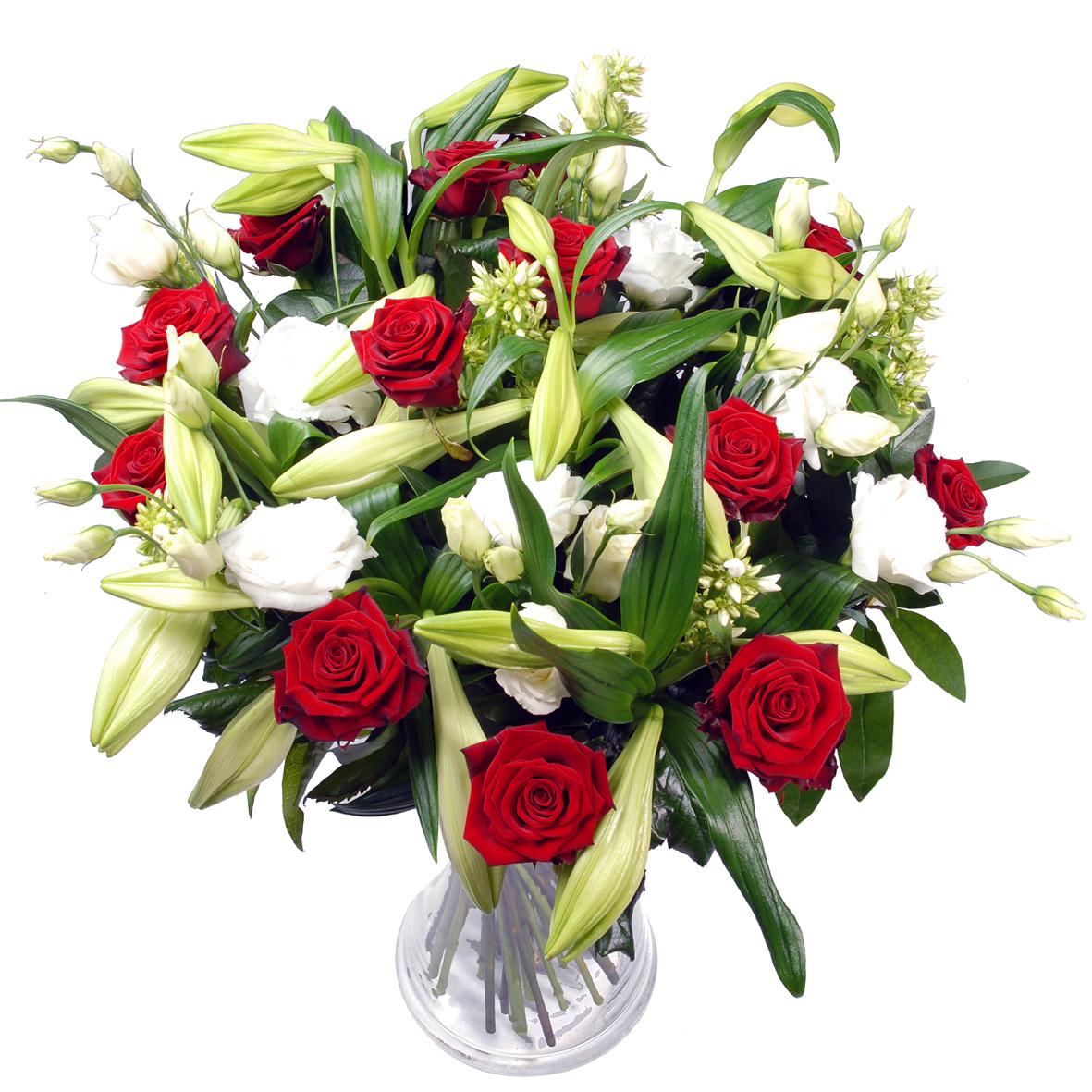 Rode rozen & witte...