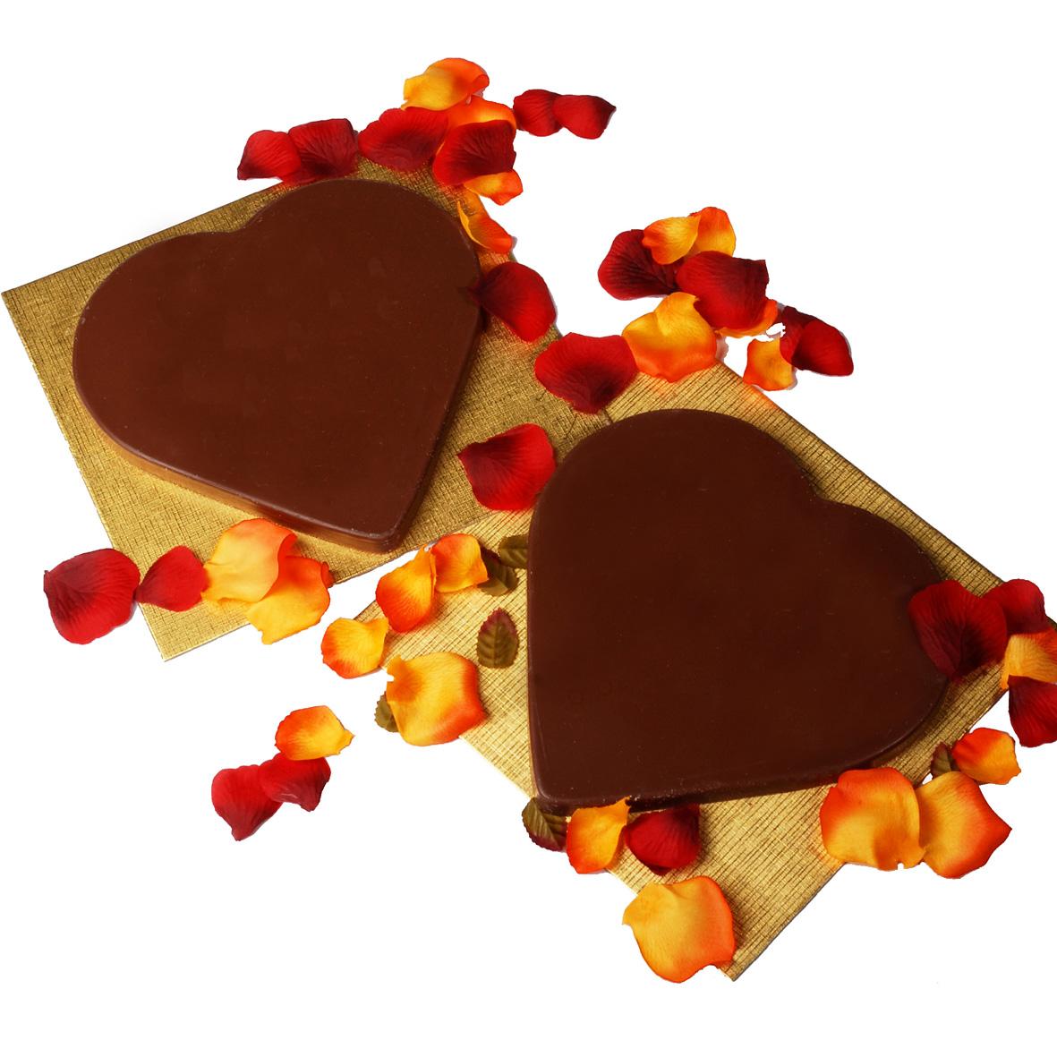 Lekker, Chocolade hart !
