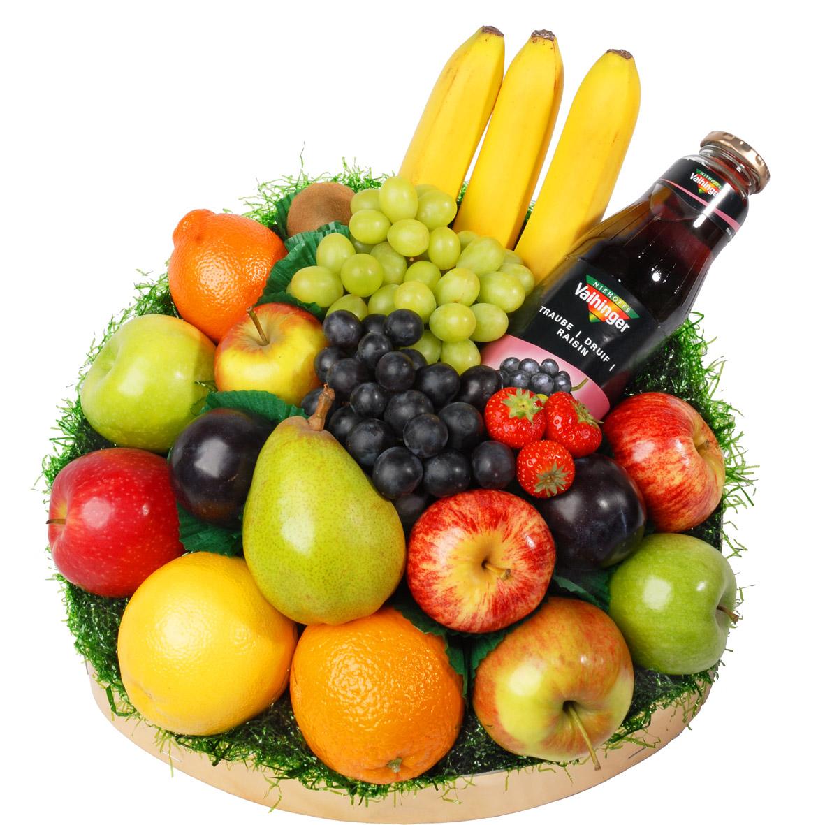 Klassieke fruitschaal groot