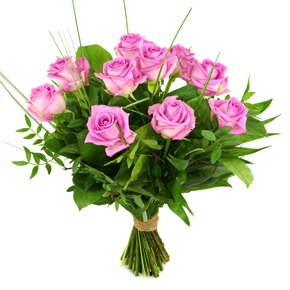 10 Roze rozen
