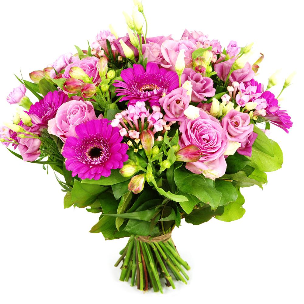 Planten Boeket roze tinten