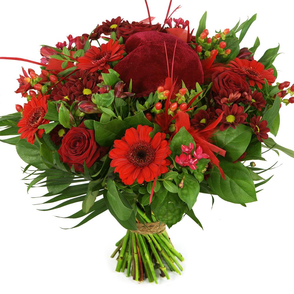 Moederdag rode bloemen