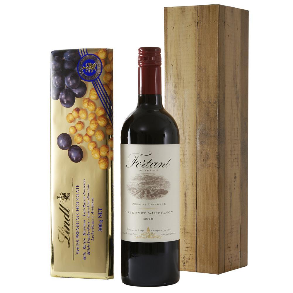 Franse rode wijn zwitserse chocolade