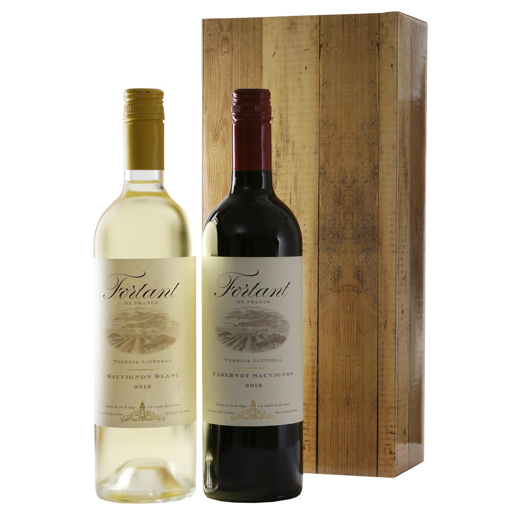 Fortant rode en witte wijn