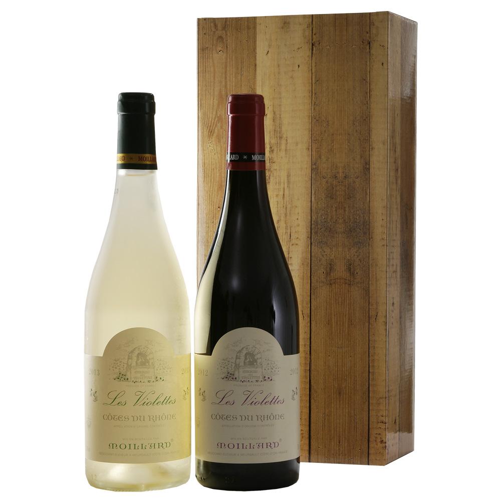 Cotes Du Rhone rode en witte wijn