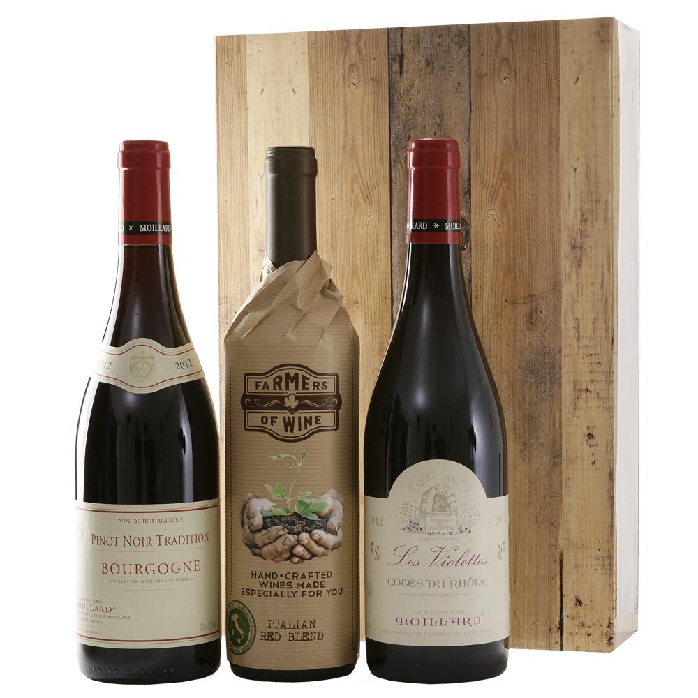 Cotes du Rhone | Farmes red wine | Bourgogne Pinot noir