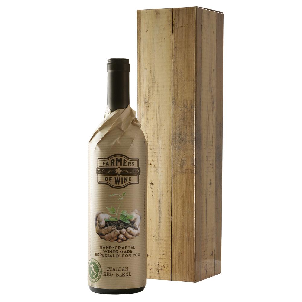 Italiaanse rode wijn  Farmers Wine