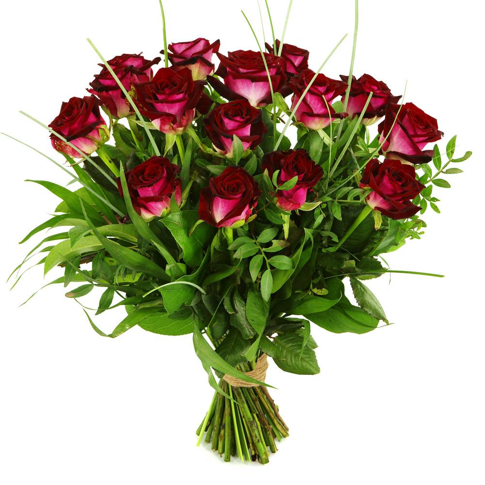 Rode rozen boeket