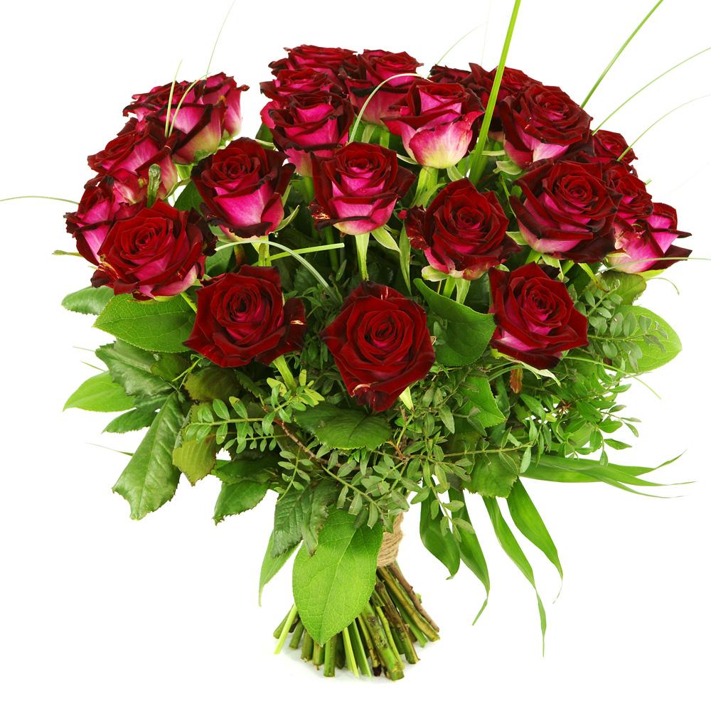 25 Rode rozen versturen