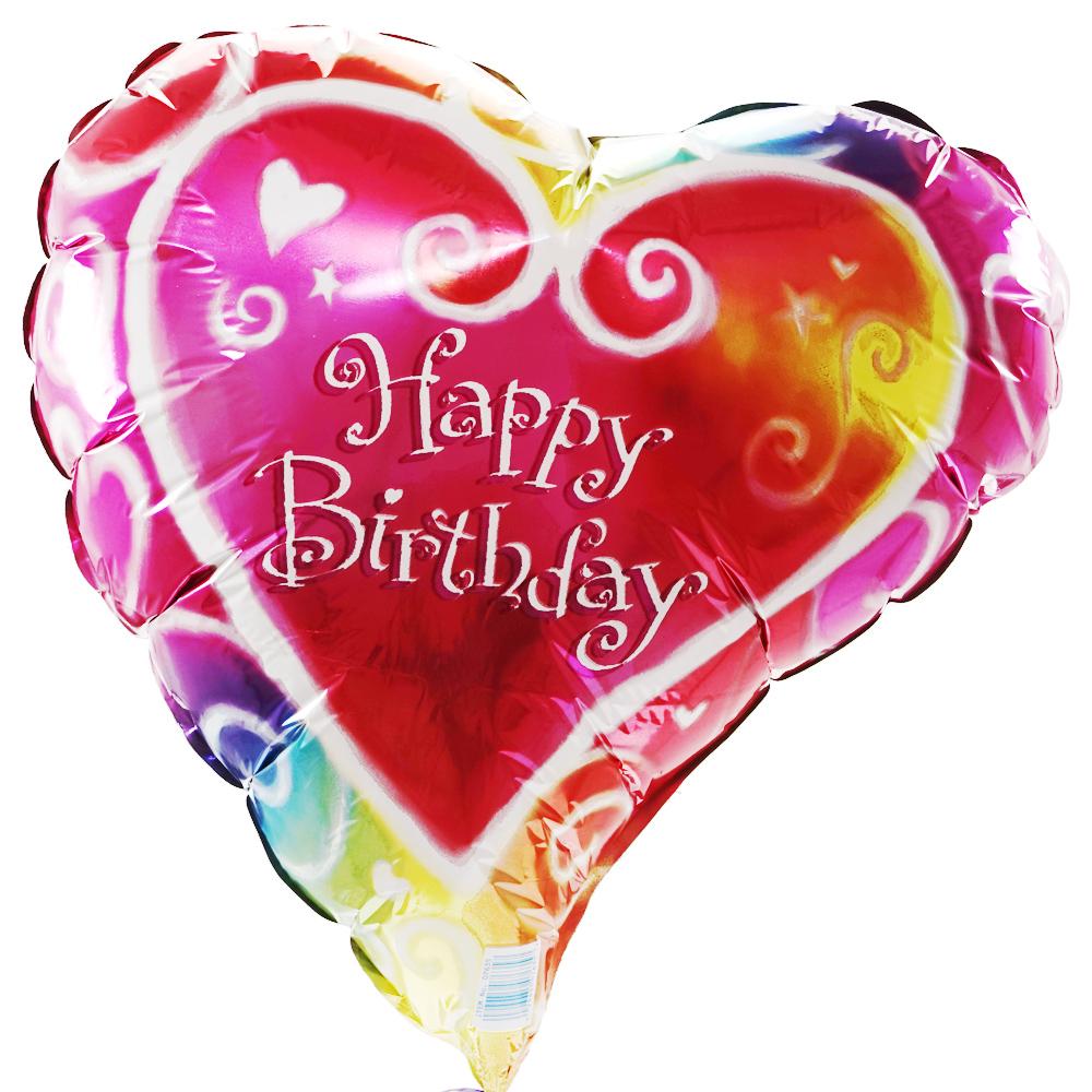 Liefdes verjaardagsballon versturen