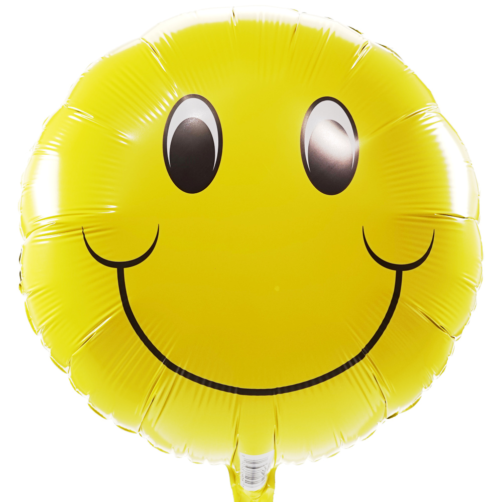Smiley ballon versturen