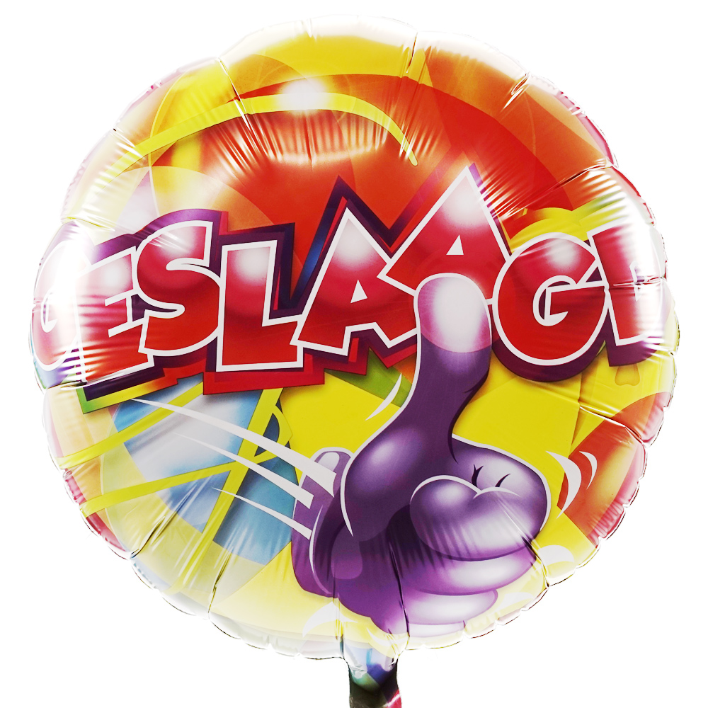 Geslaagd ballon