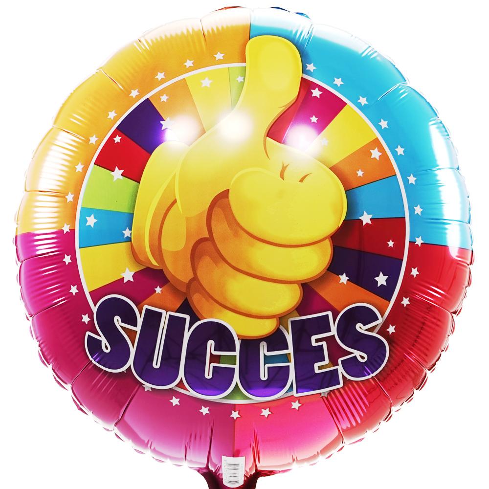 Succes helium ballon