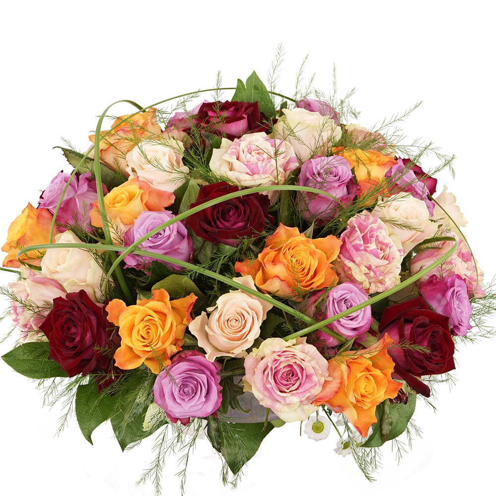 Biedermeier mixed rozen bezorgen