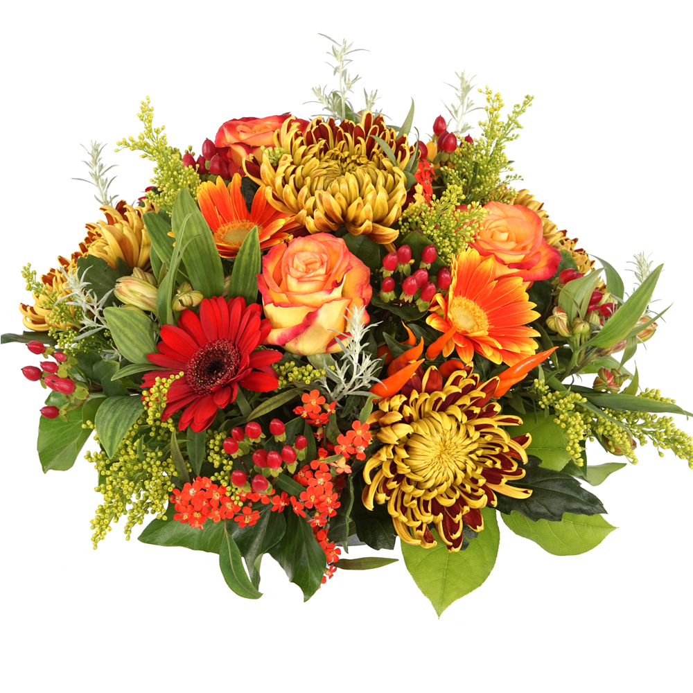 Herfst bloemstuk bestellen