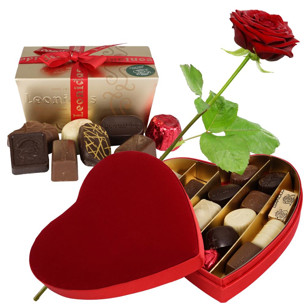 Leonidas bonbons pakket kopen doe je bij van der Voort