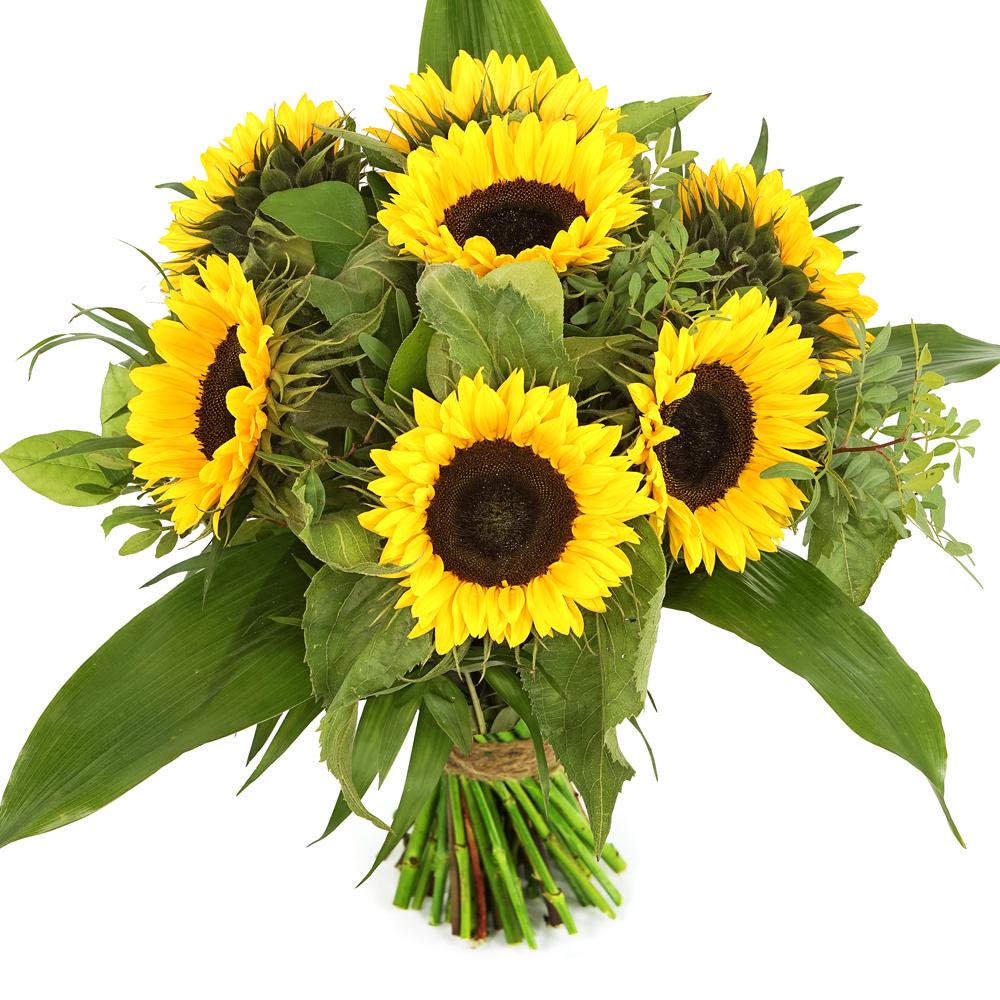 Bos zonnebloemen bestellen en bezorgen