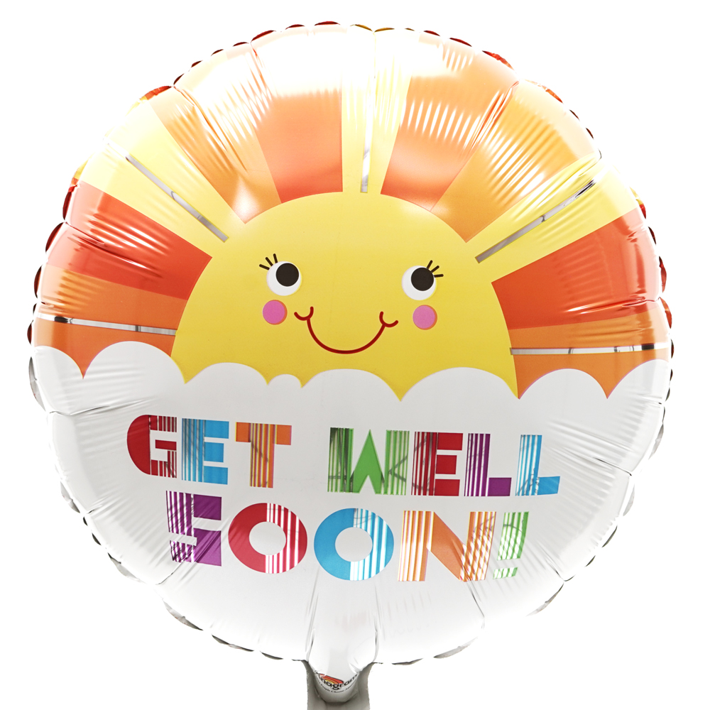 Get well soon ballon