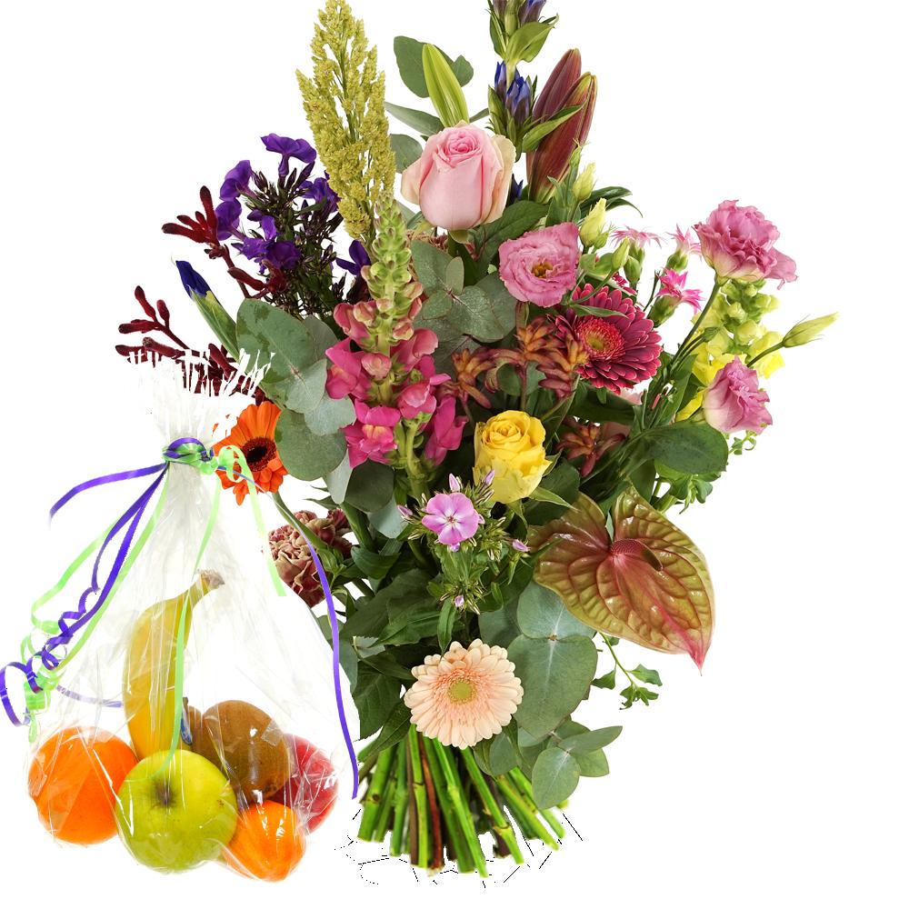 Bloemen en fruit bezorgen
