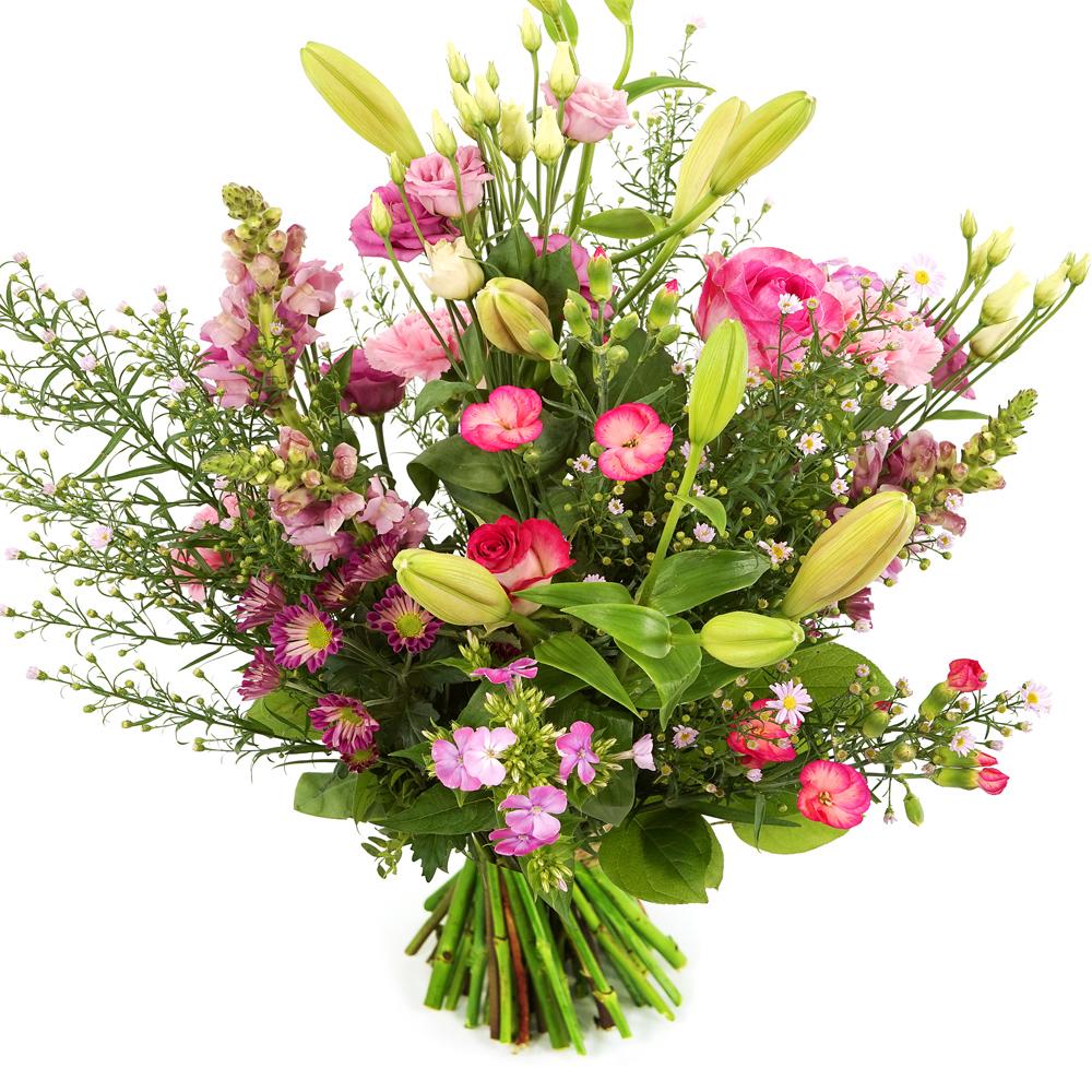 Planten Geplukt roze boeket versturen