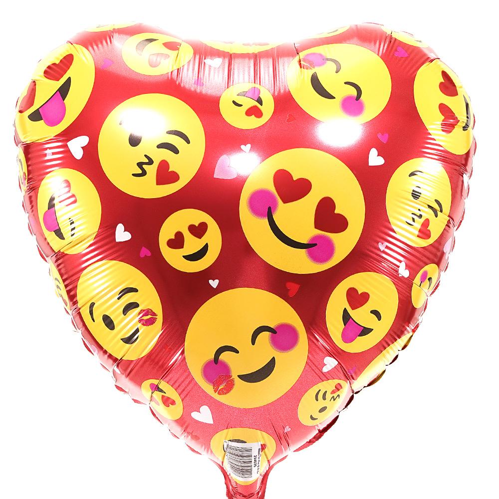 Heliumballon hartvorm bestellen