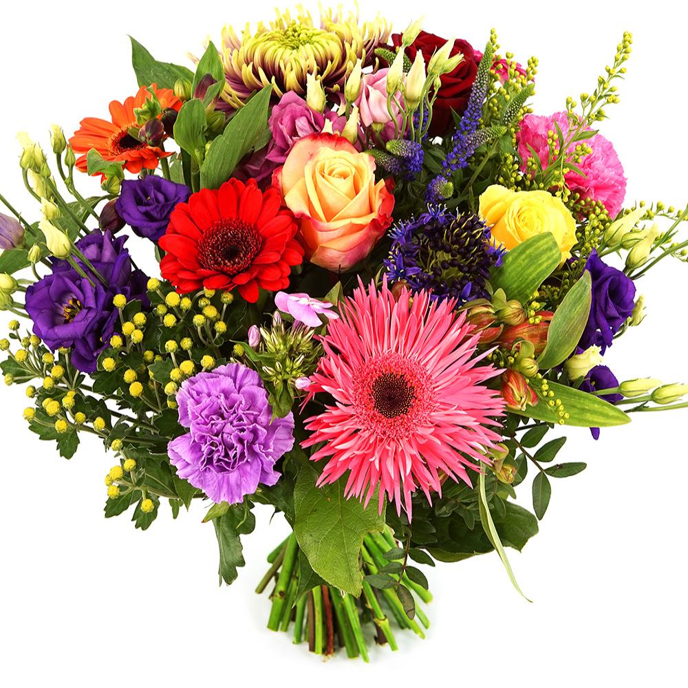 Bonte bloemen bezorgen