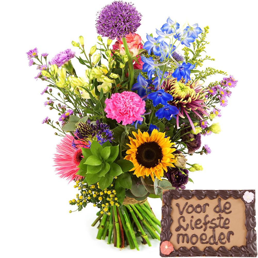 Planten Geplukte seizoen bloemen en chocolade bestellen