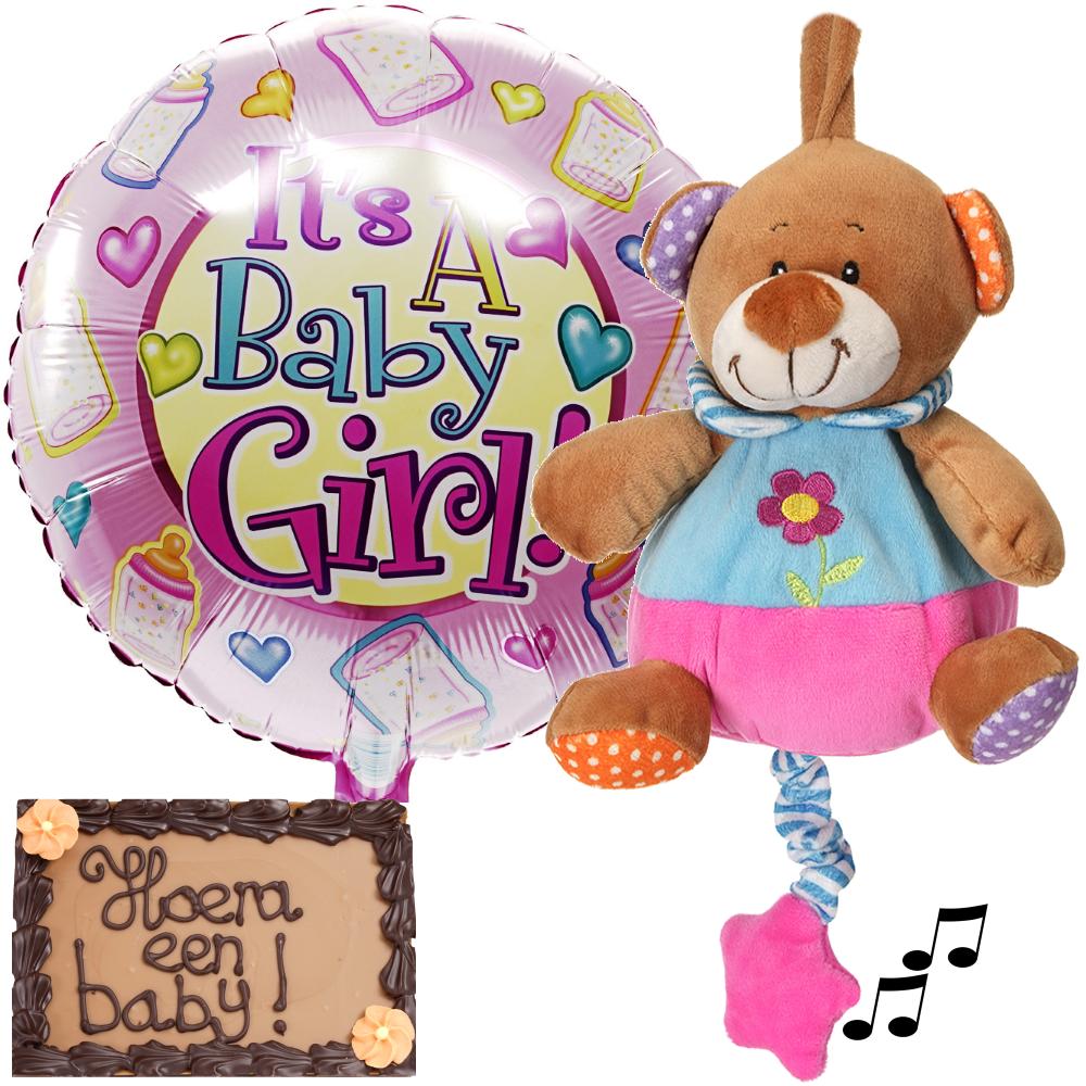 Babyplezier pakket meisje bezorgen