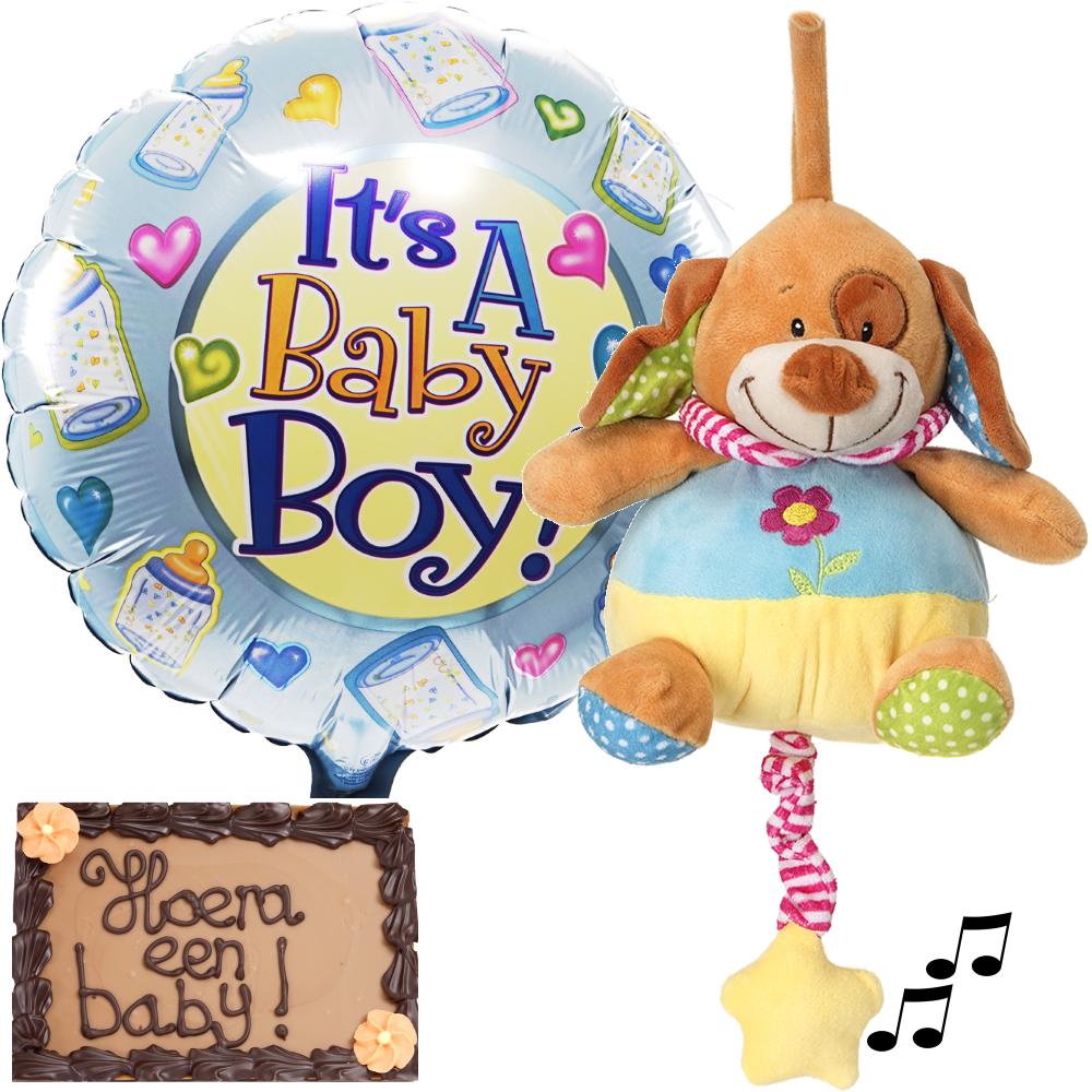 Babyplezier pakket jongen bezorgen