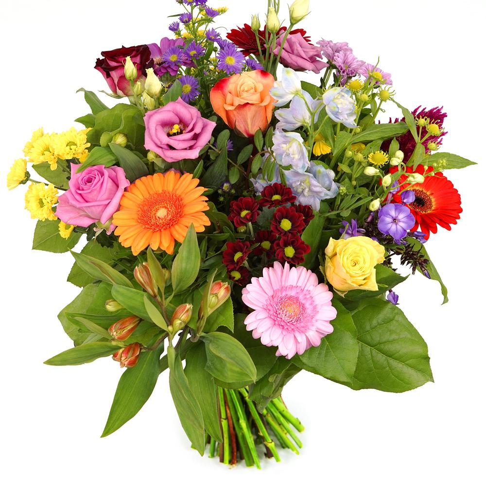 Boeket verse bloemen bezorgen met gelegenheid wikkel tube laagste prijs
