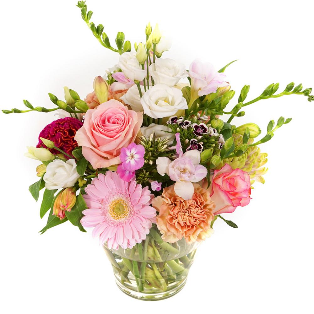 Bloemen met vaas bestellen