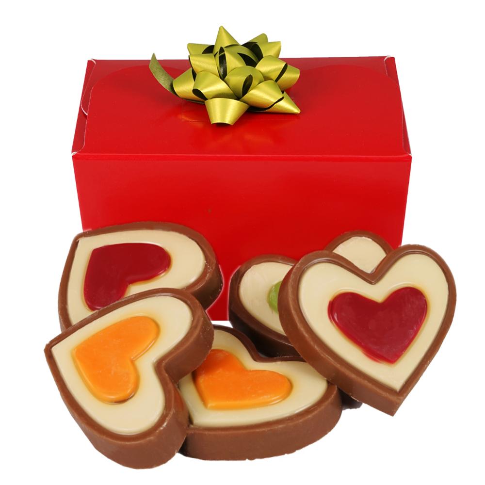 Hartjes chocolade bezorgen