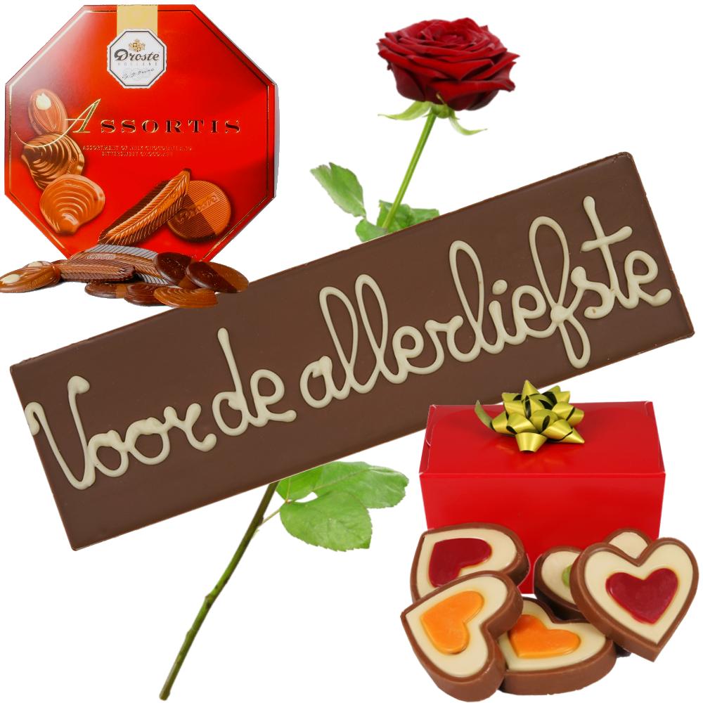 Liefde chocolade pakket bestellen