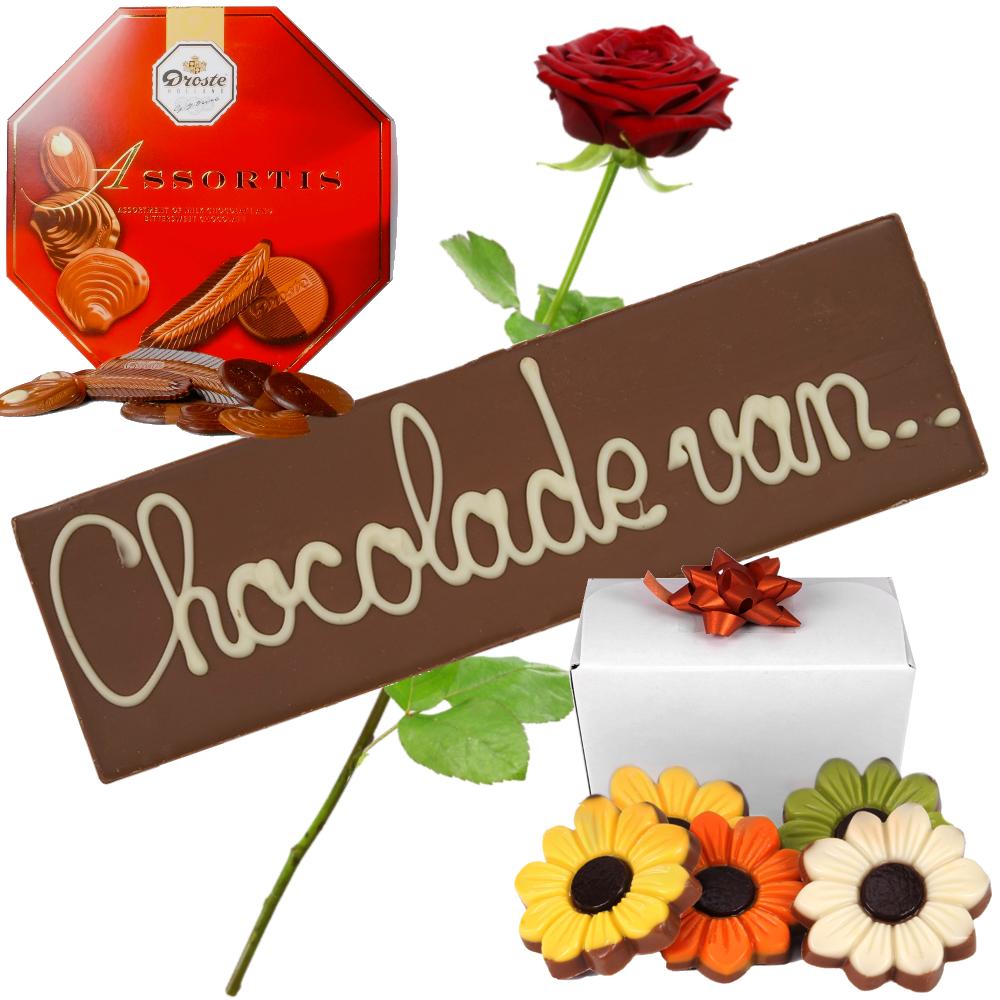 Chocolade pakket versturen