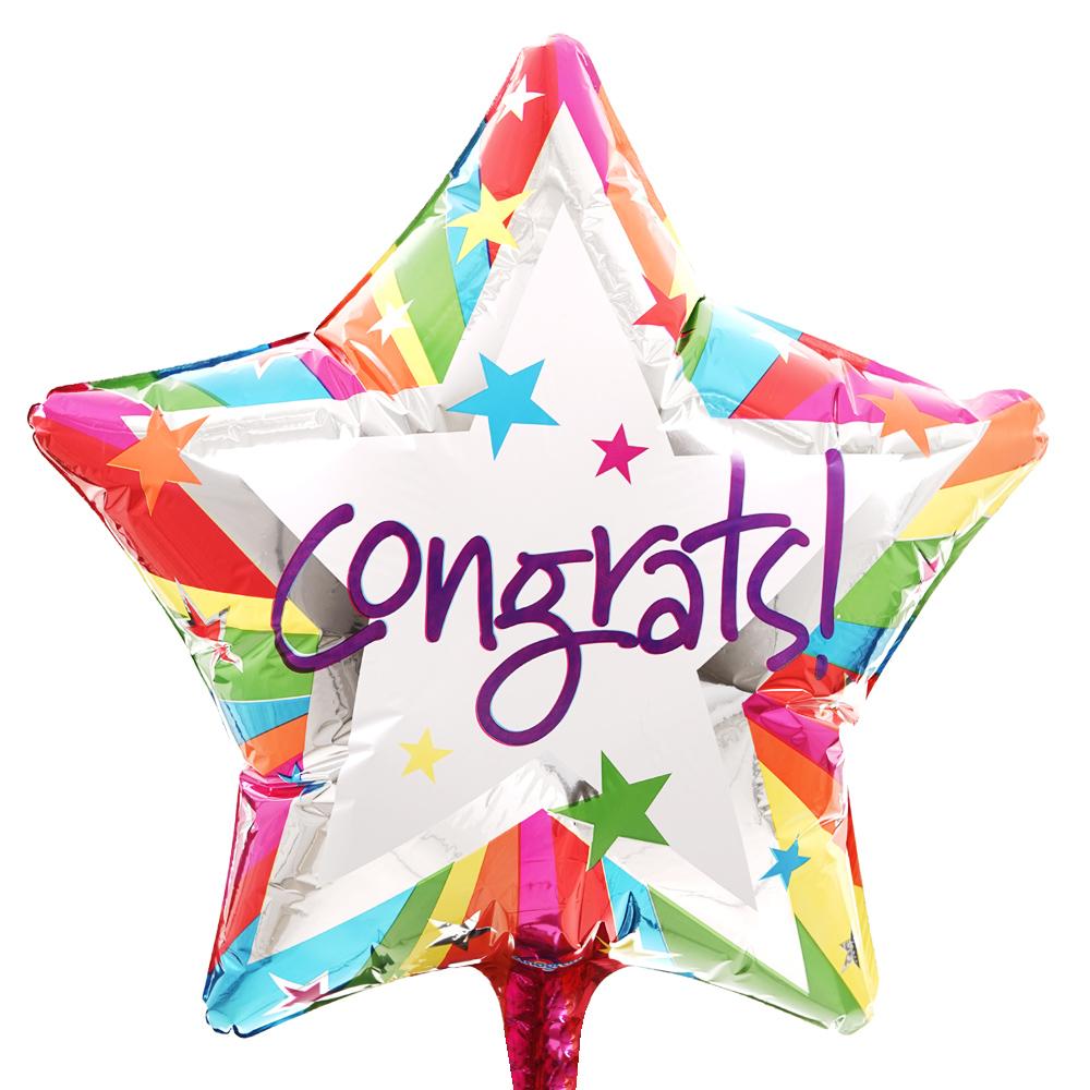 Congrats ballon