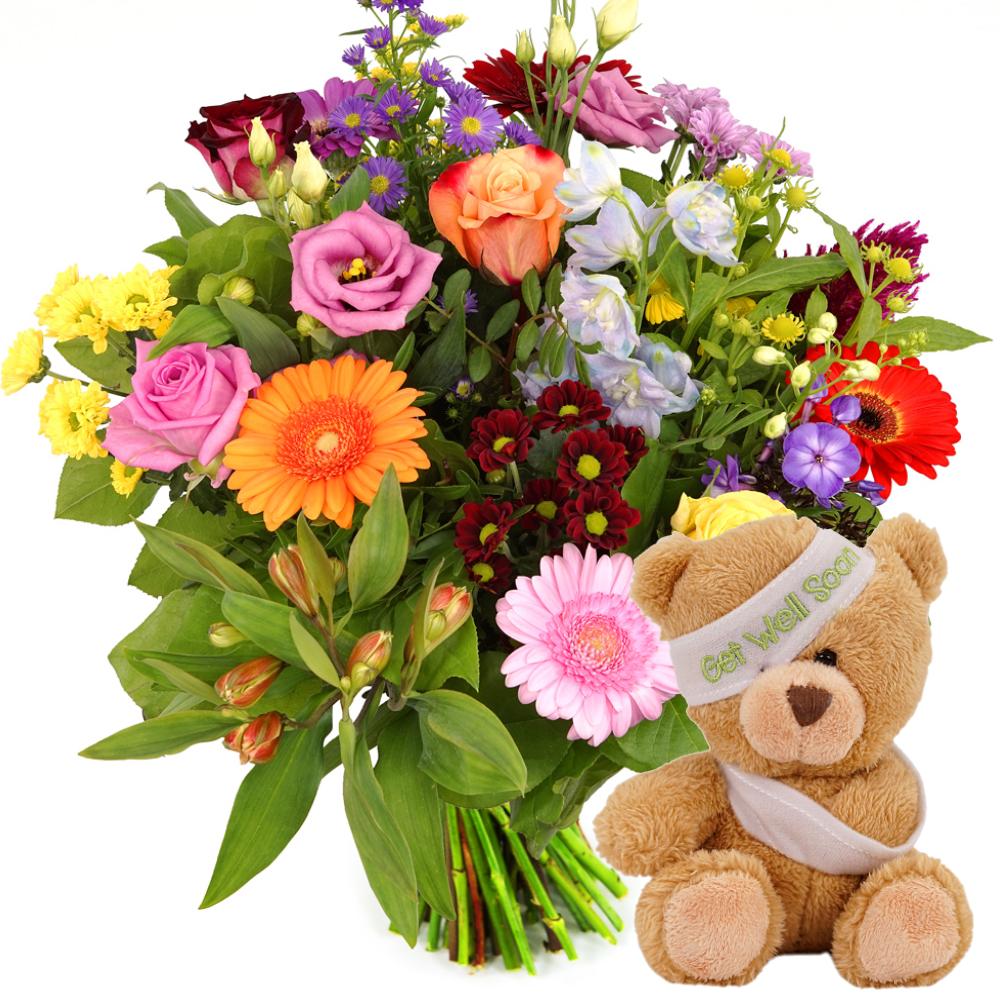 Beterschap bloemen bezorgen