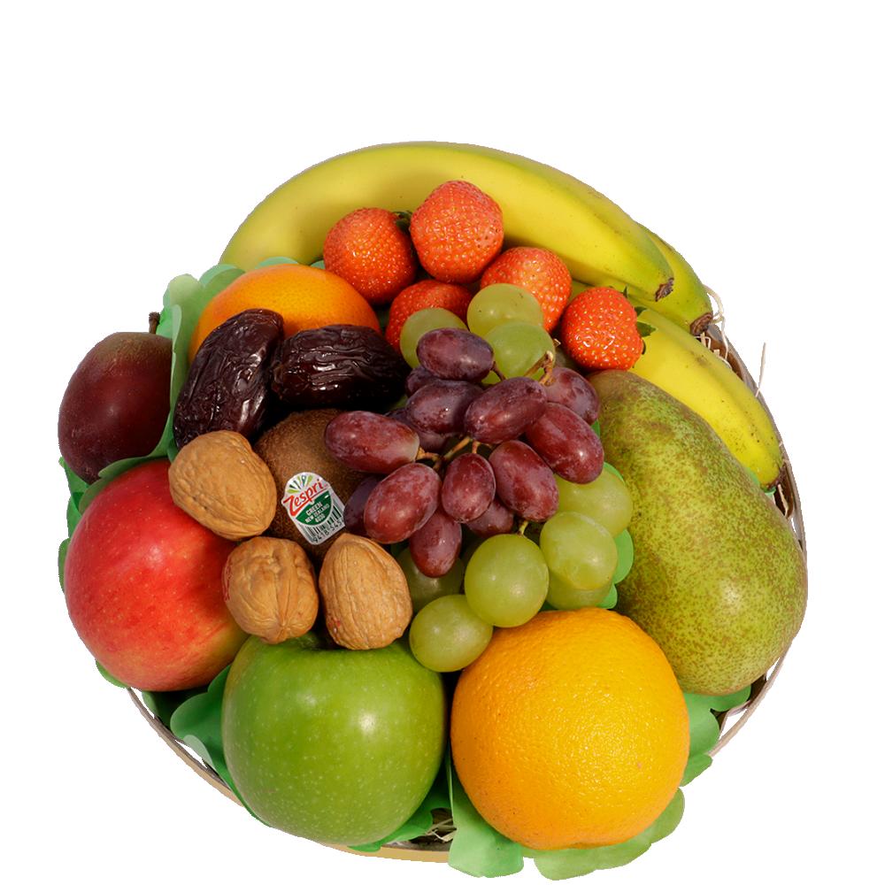 Klassieke fruitschaal middel