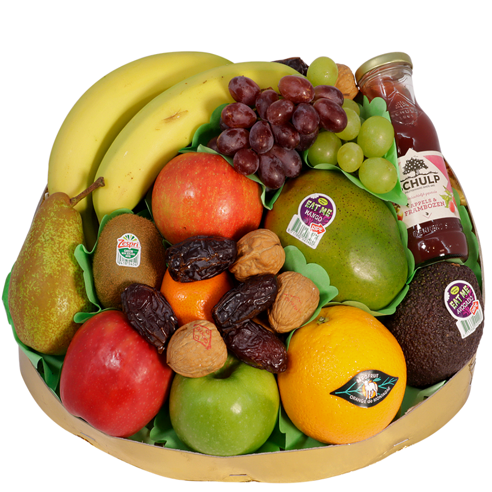 Klassieke fruitschaal super