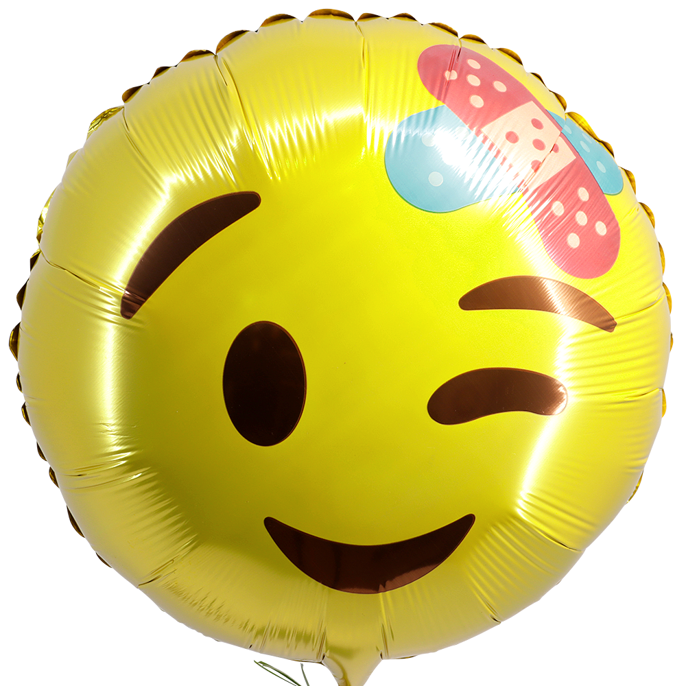 Smiley ballon pleister