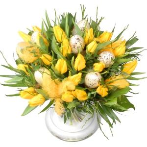 Pasen Tulpenboeket